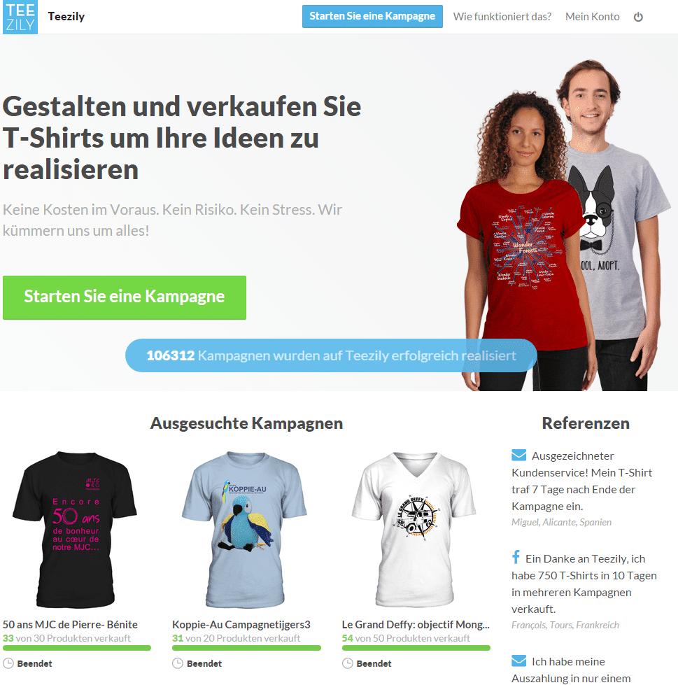 Mit Shirts Geld Verdienen
